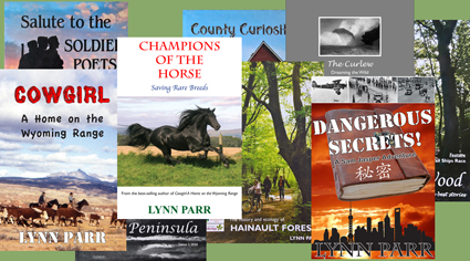 Other books by The Curlew Editor Lynn Parr
