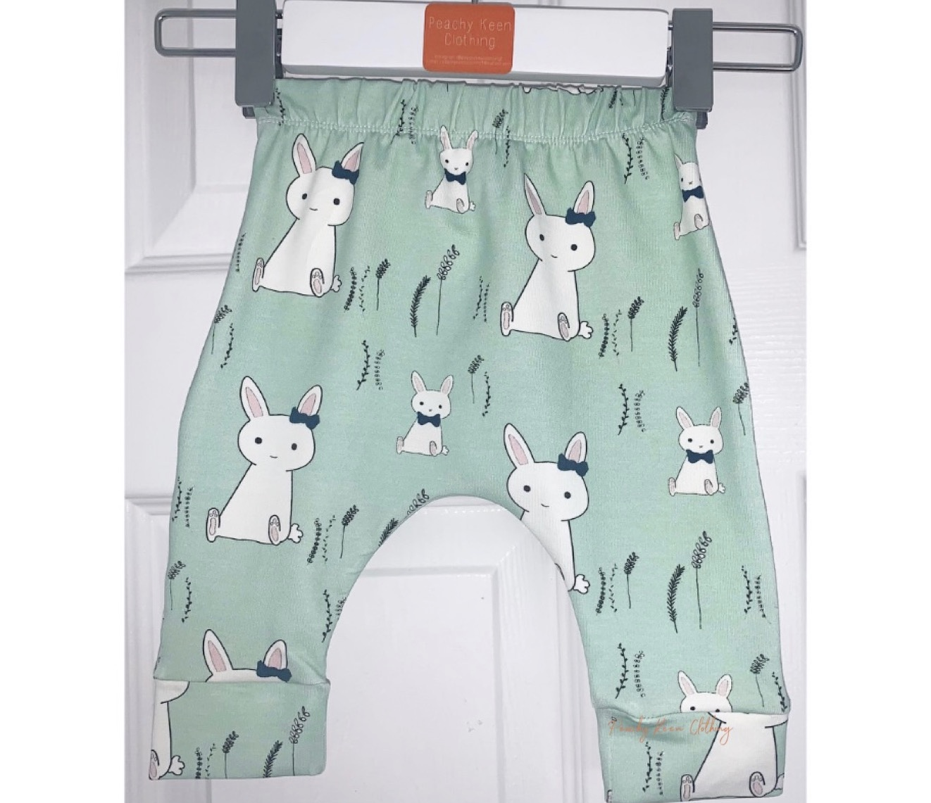 Mint Bunny Leggings