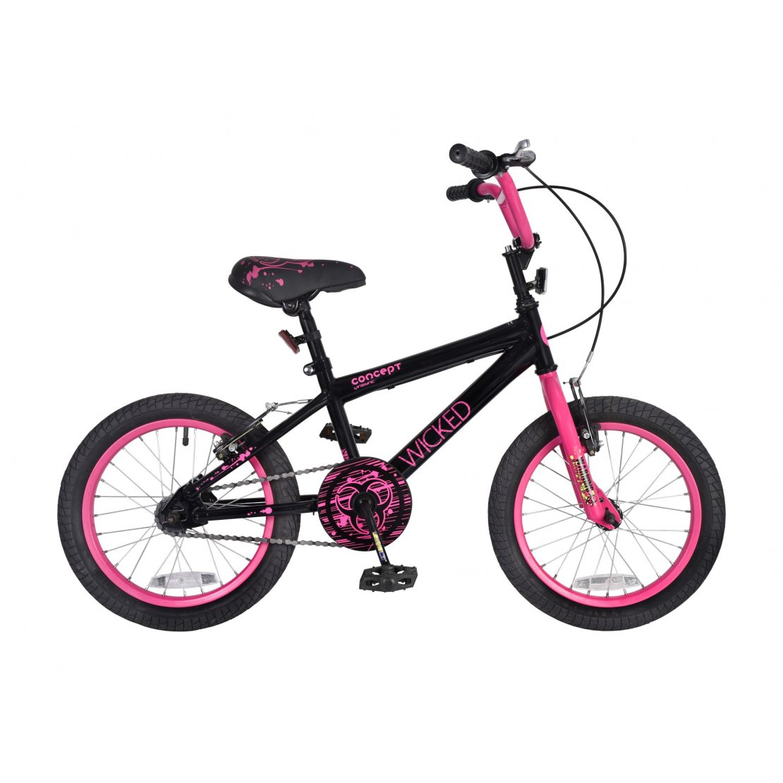 "Concept Wicked 16"" Wheel Girls Bicycle"