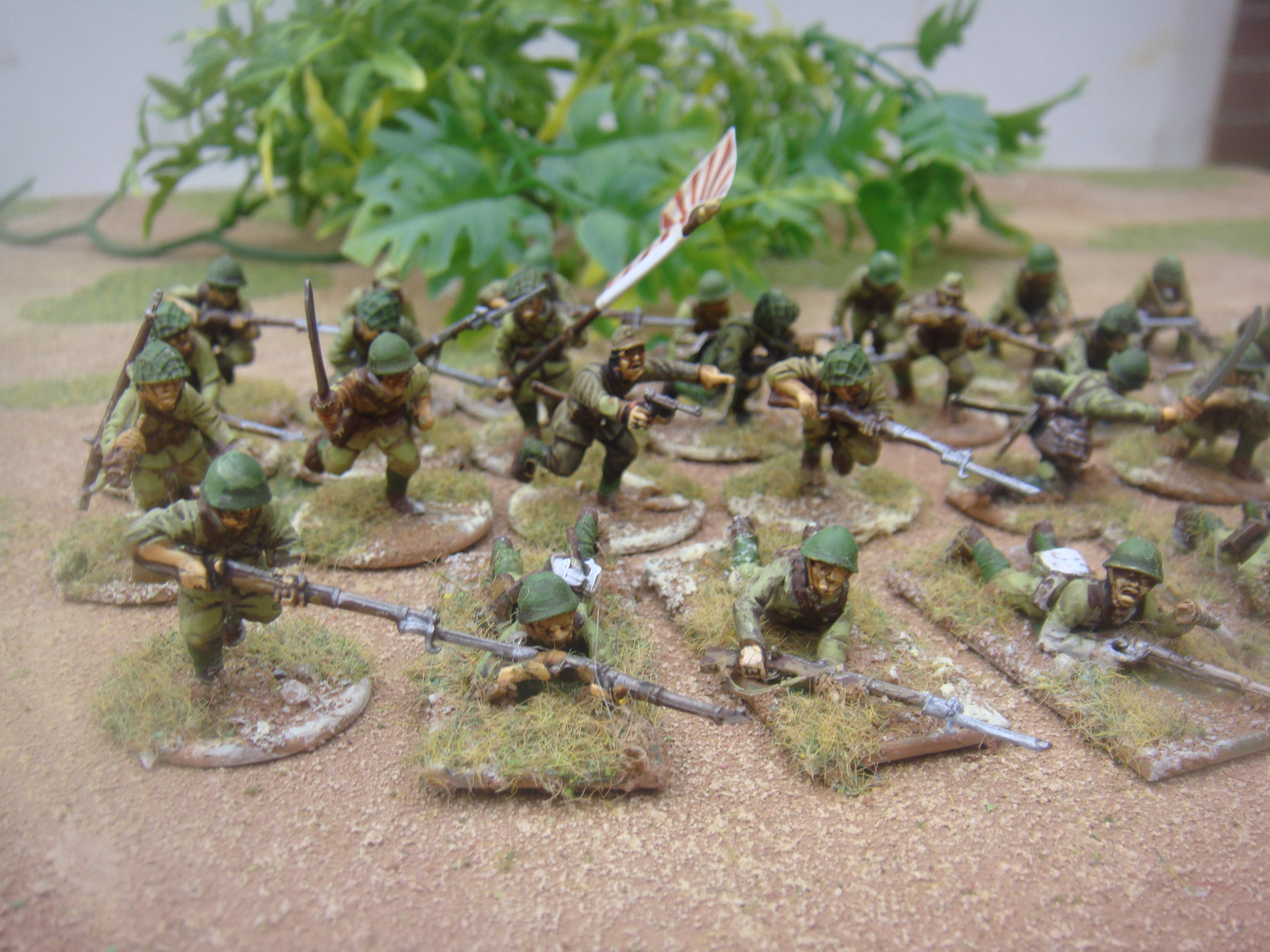 Bolt Action World War 2 Japanese Infantry Painted to order!!