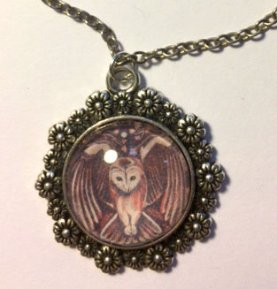 'Tawny Owl' necklace