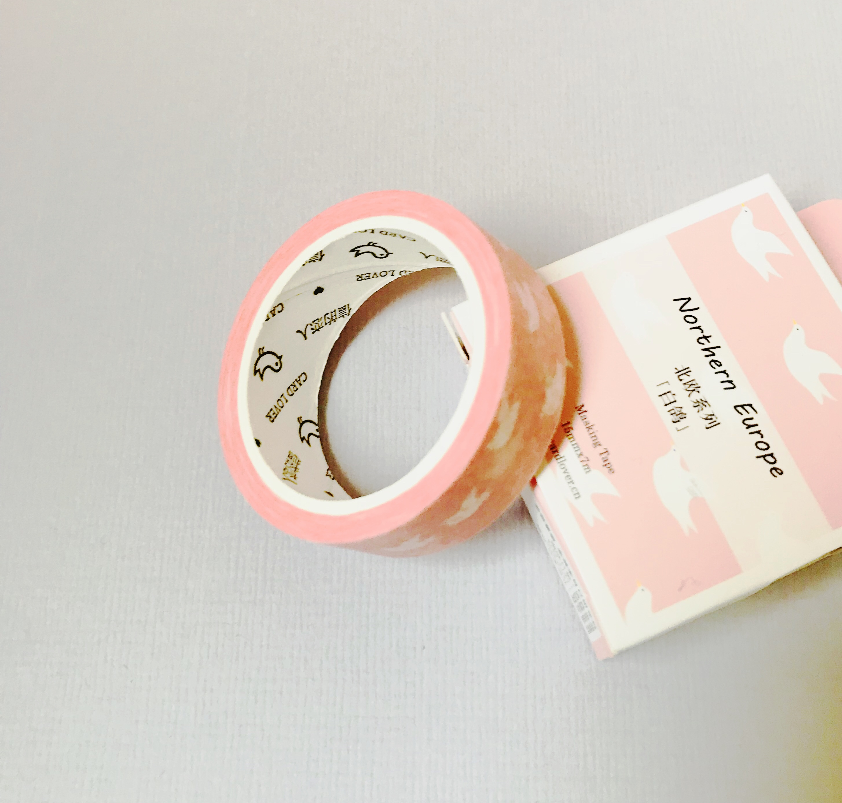 Box washi tape ' birdie'