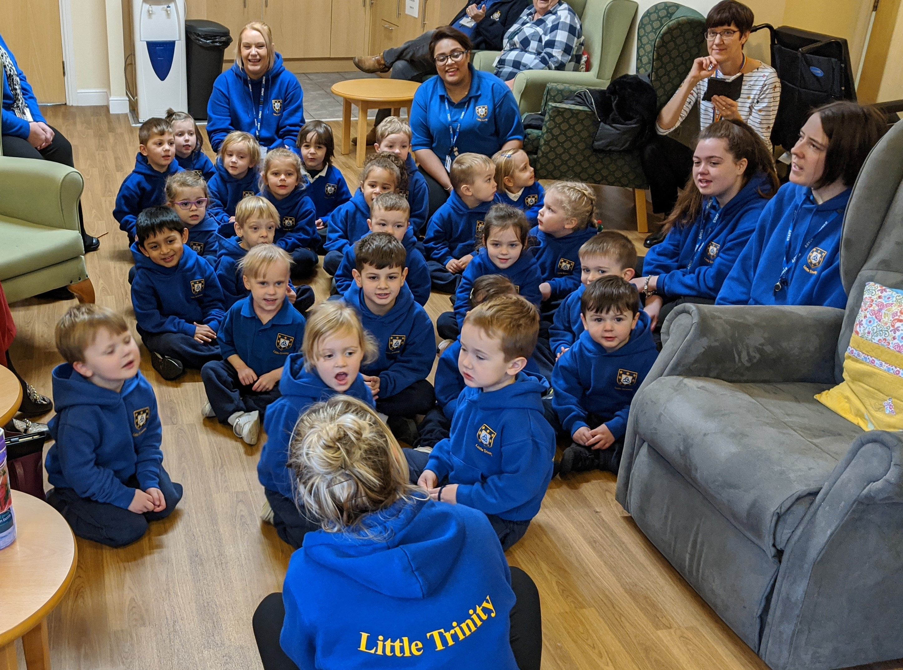 Little Trinity Nursery Join in KEMP's 12 Days of Christmas