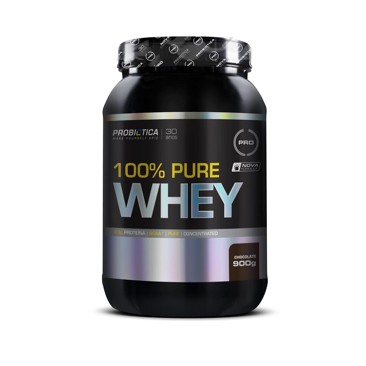 Sallutar Suplementos Whey Advanced  Protein 900g