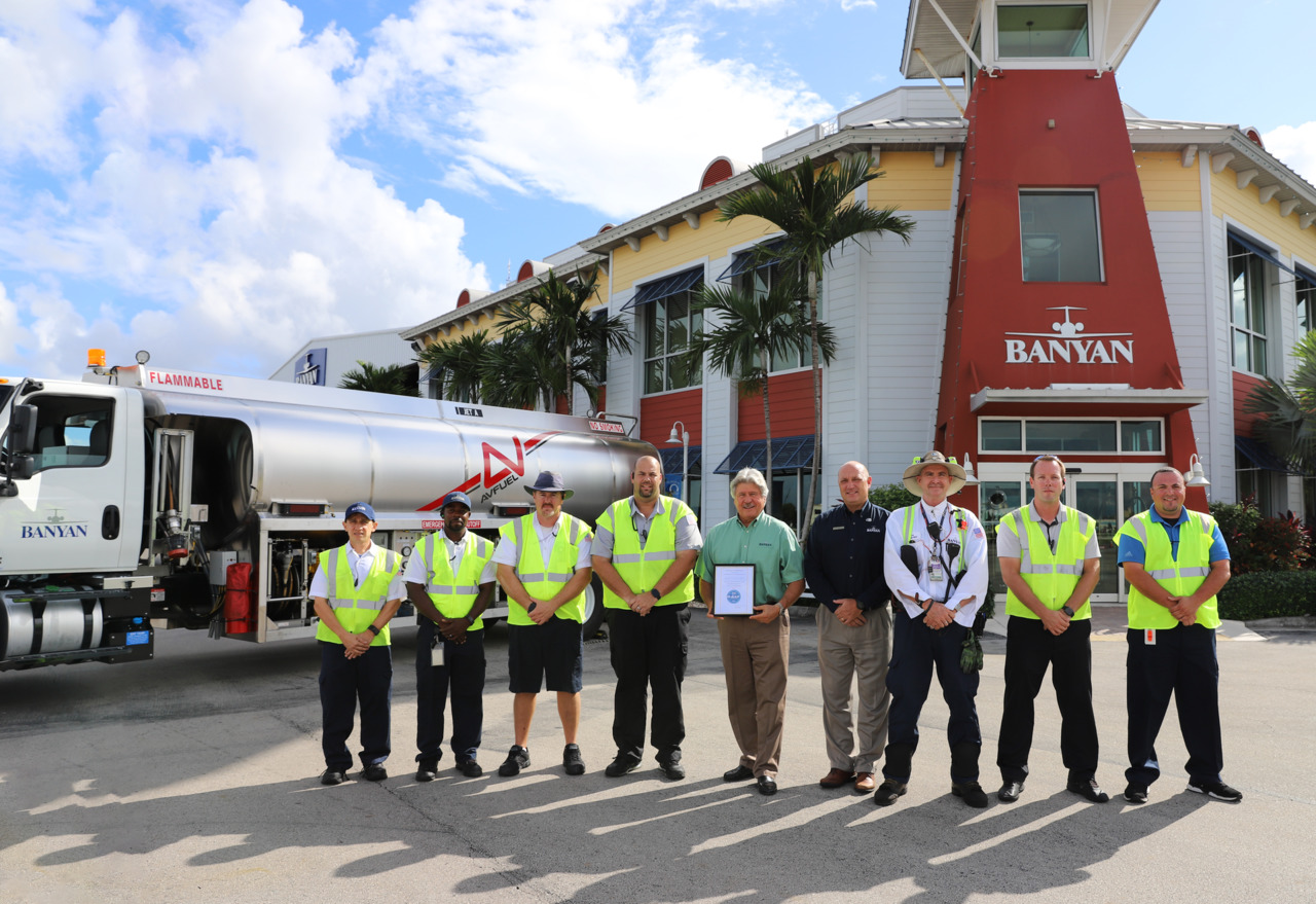 Banyan FBO at Fort Lauderdale Exec gains IS-BAH Stage 1 Accreditation