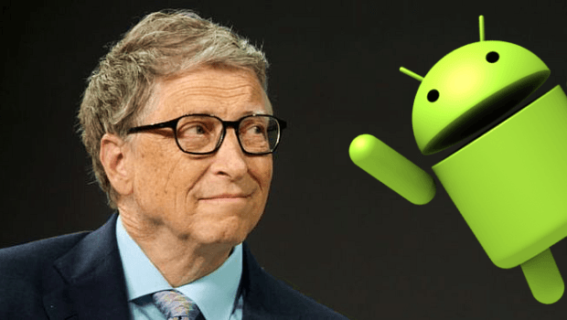Bill Gates has switched to An Android Mobile