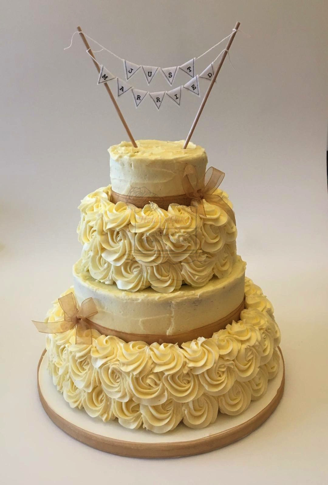 Semi-Naked/Piped Buttercream
