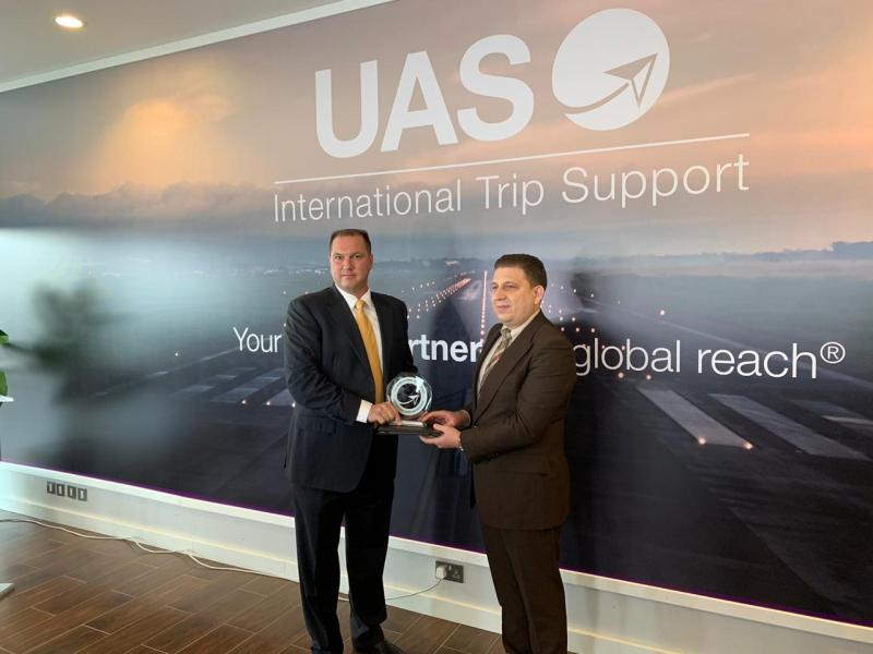 UAS Best Handler in Europe Award - Skylink Services