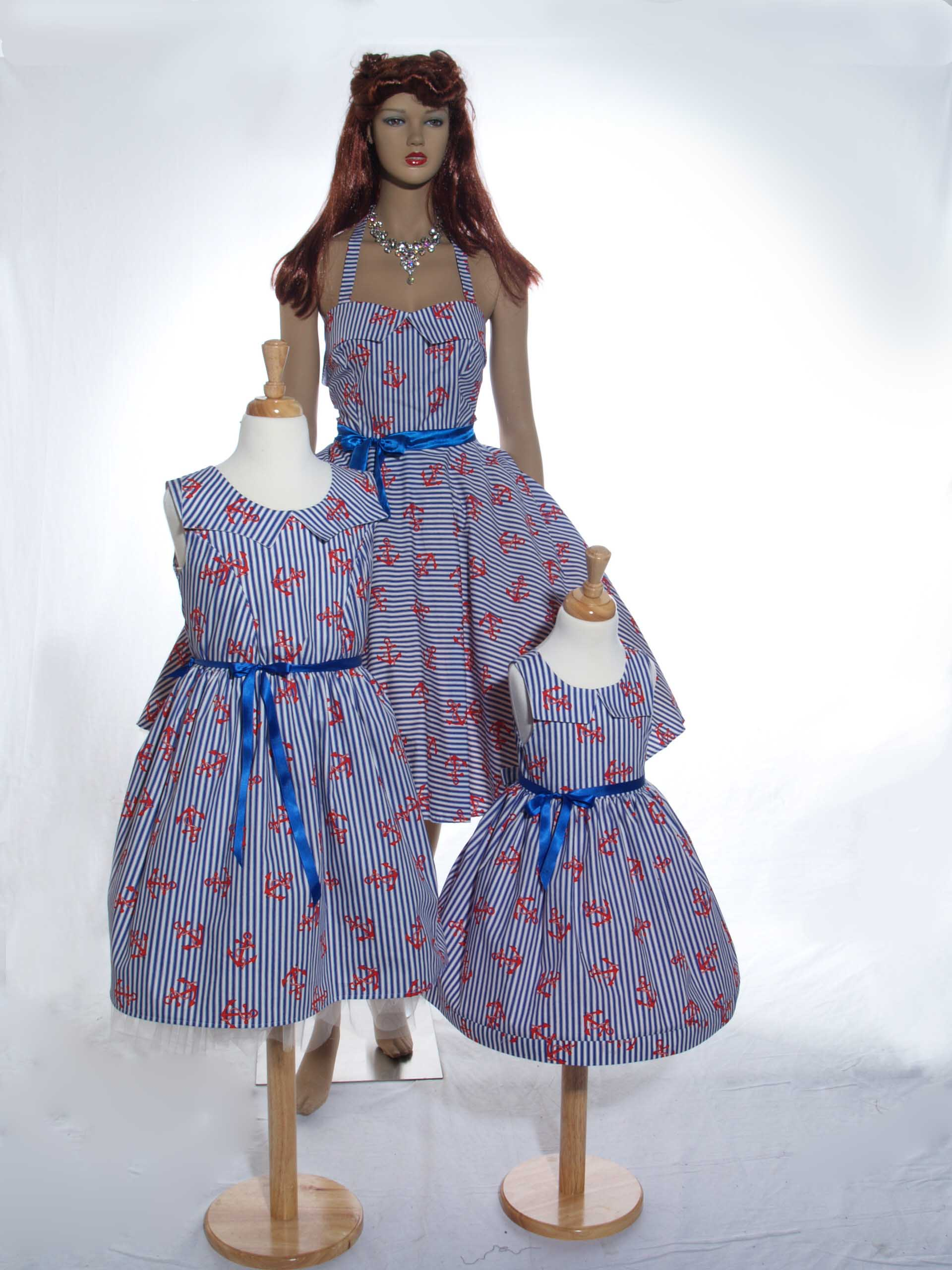 Sample Mother and Daughter Dresses