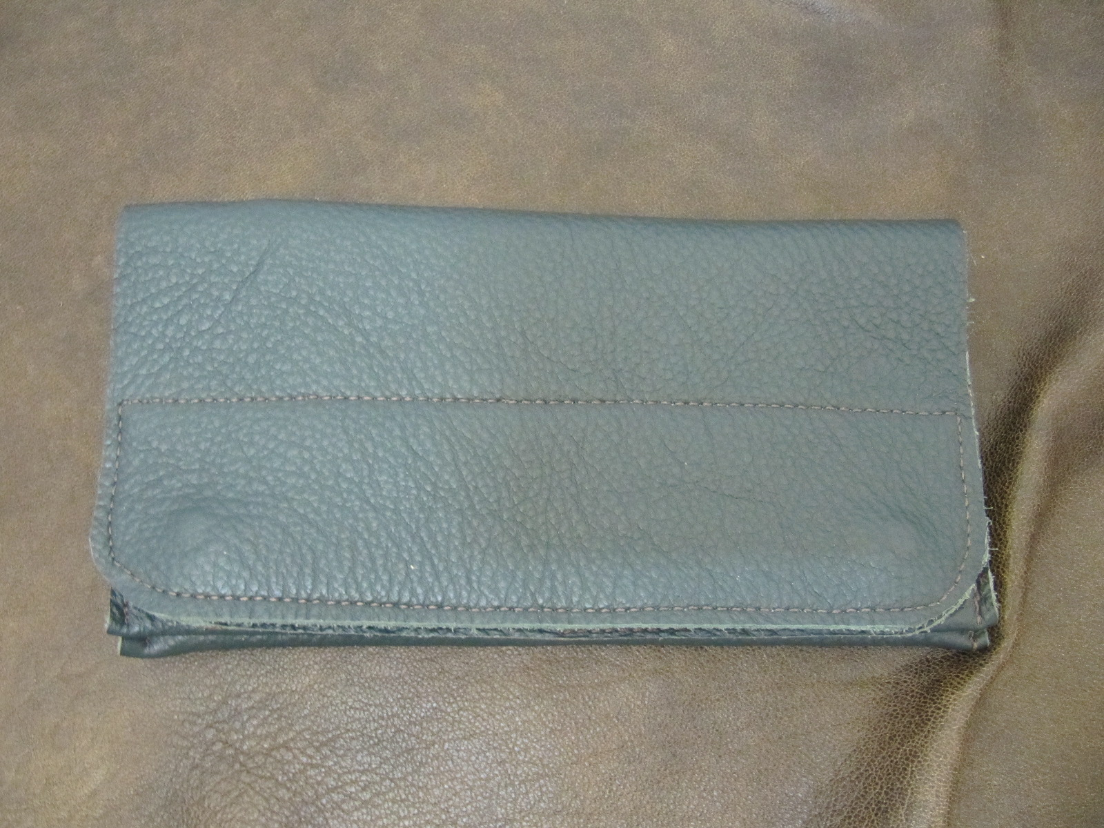 Forest Green Leather Wallet