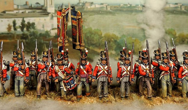 BRITISH WATERLOO INFANTRY UNIT