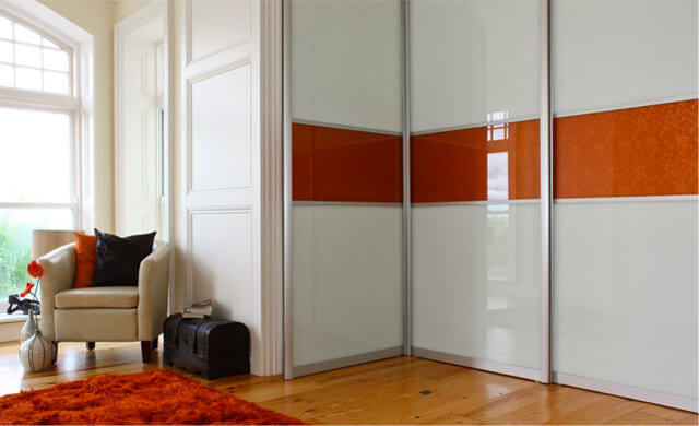 Biscayne Prestige White & Orange Gloss