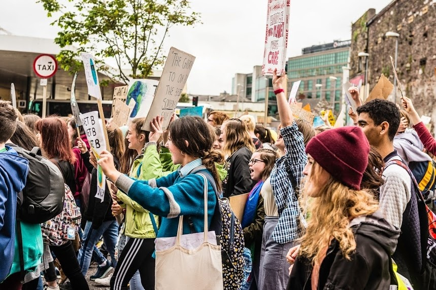 "Fridays for Future - People often ask - ""how can adults support the strikes"""