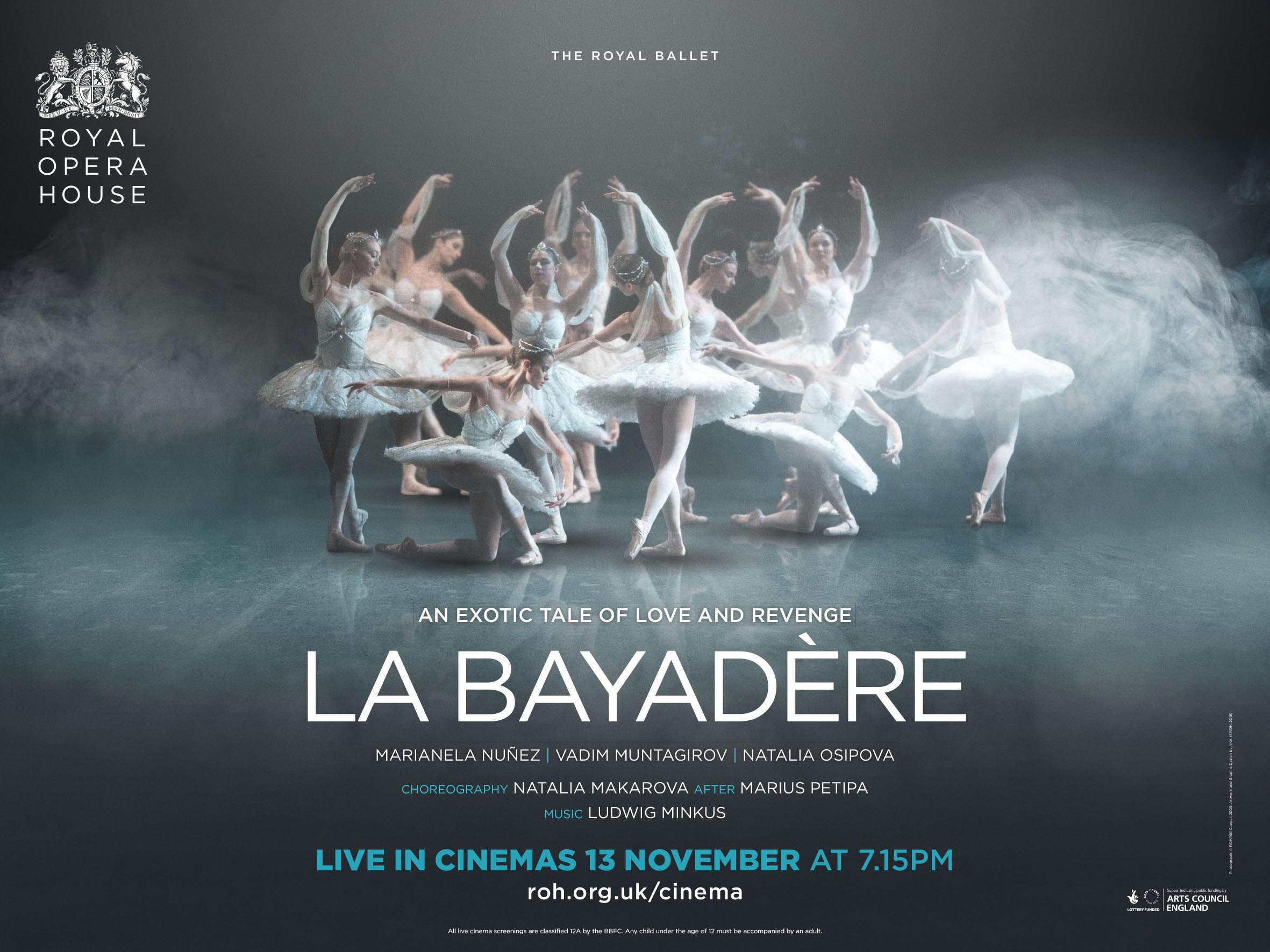 DANCE - Actors for La Bayadere at The Royal Opera House (apply by 4th Oct)
