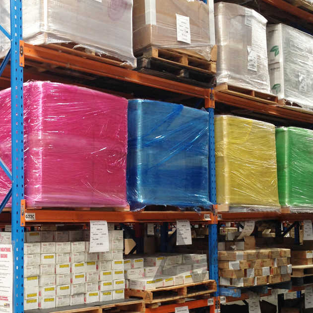 Using Coloured Packaging In Warehouses