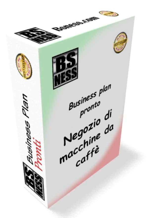 Business plan Negozio di macchine da caffè