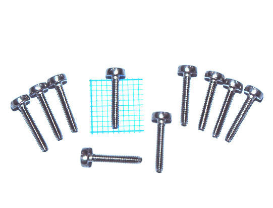 Screws (10pcs.) for fixing the reedplates from the  Blues series,