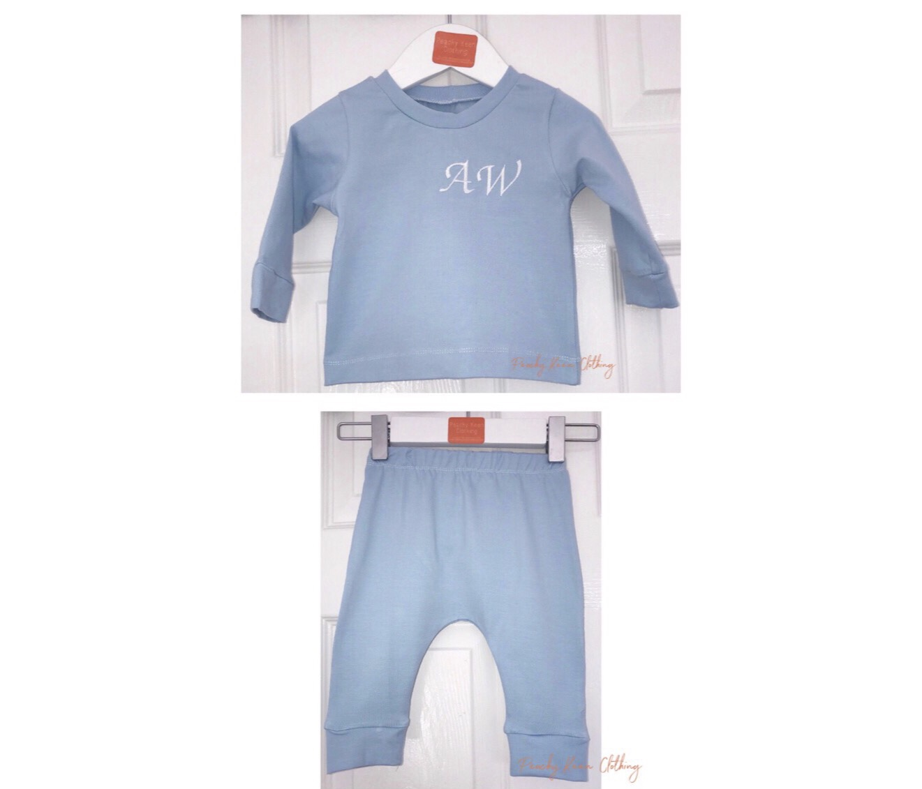 Blue Personalised Set