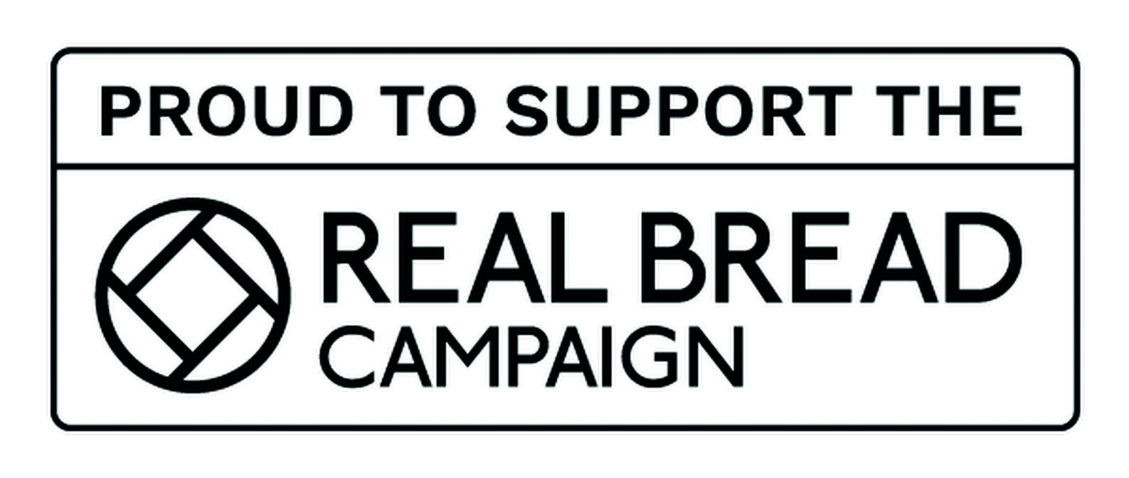 We are members of the Real Bread Campaign