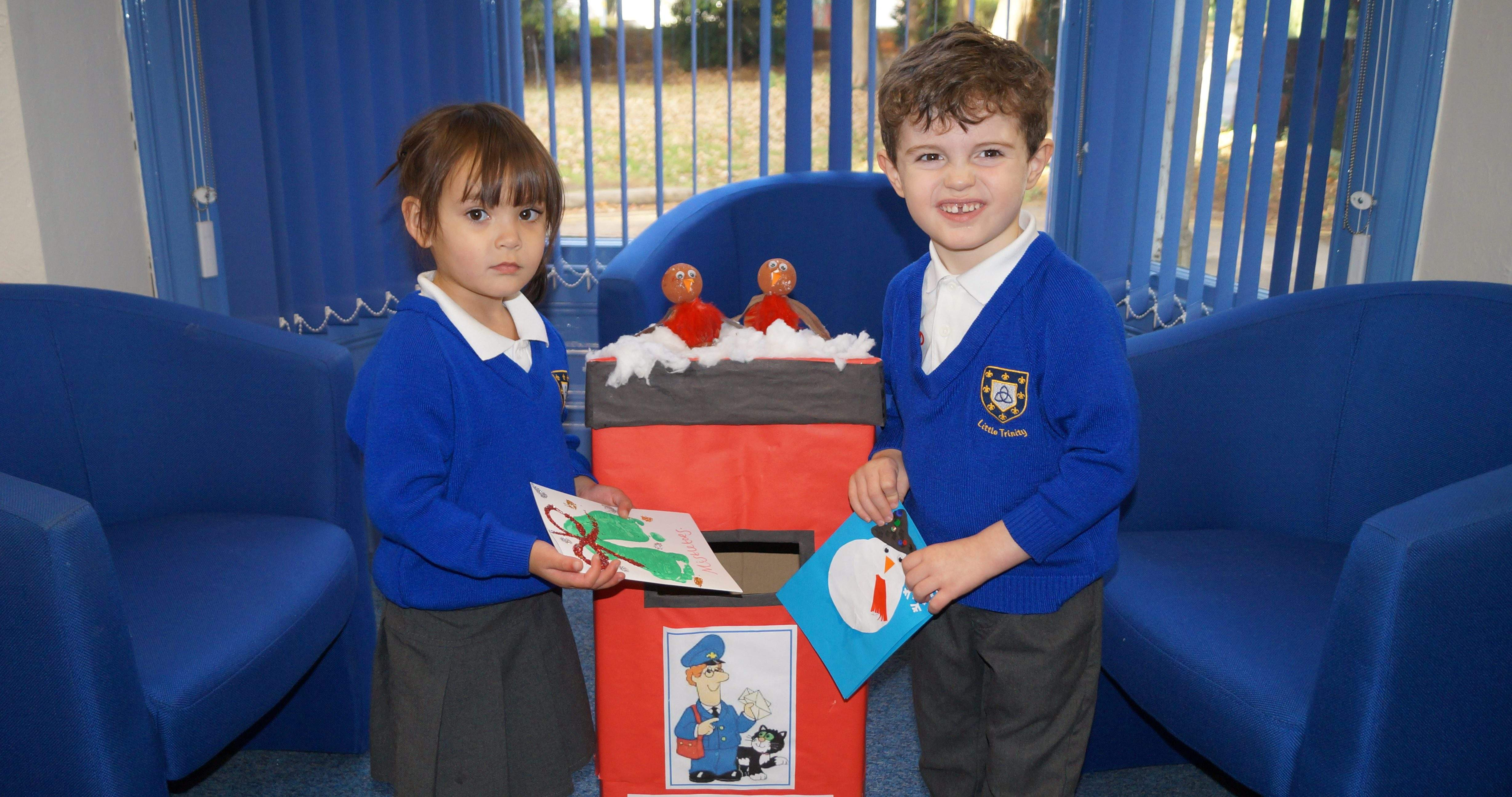 Nursery Christmas Cards Support Kidderminster Library Appeal