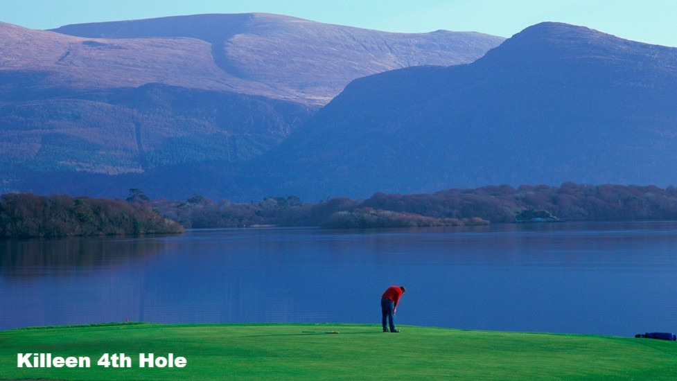 The 4th Hole at Killeen Golf Course, County Kerry, Ireland
