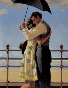The Proposal Jack Vettriano Limited Edition Print