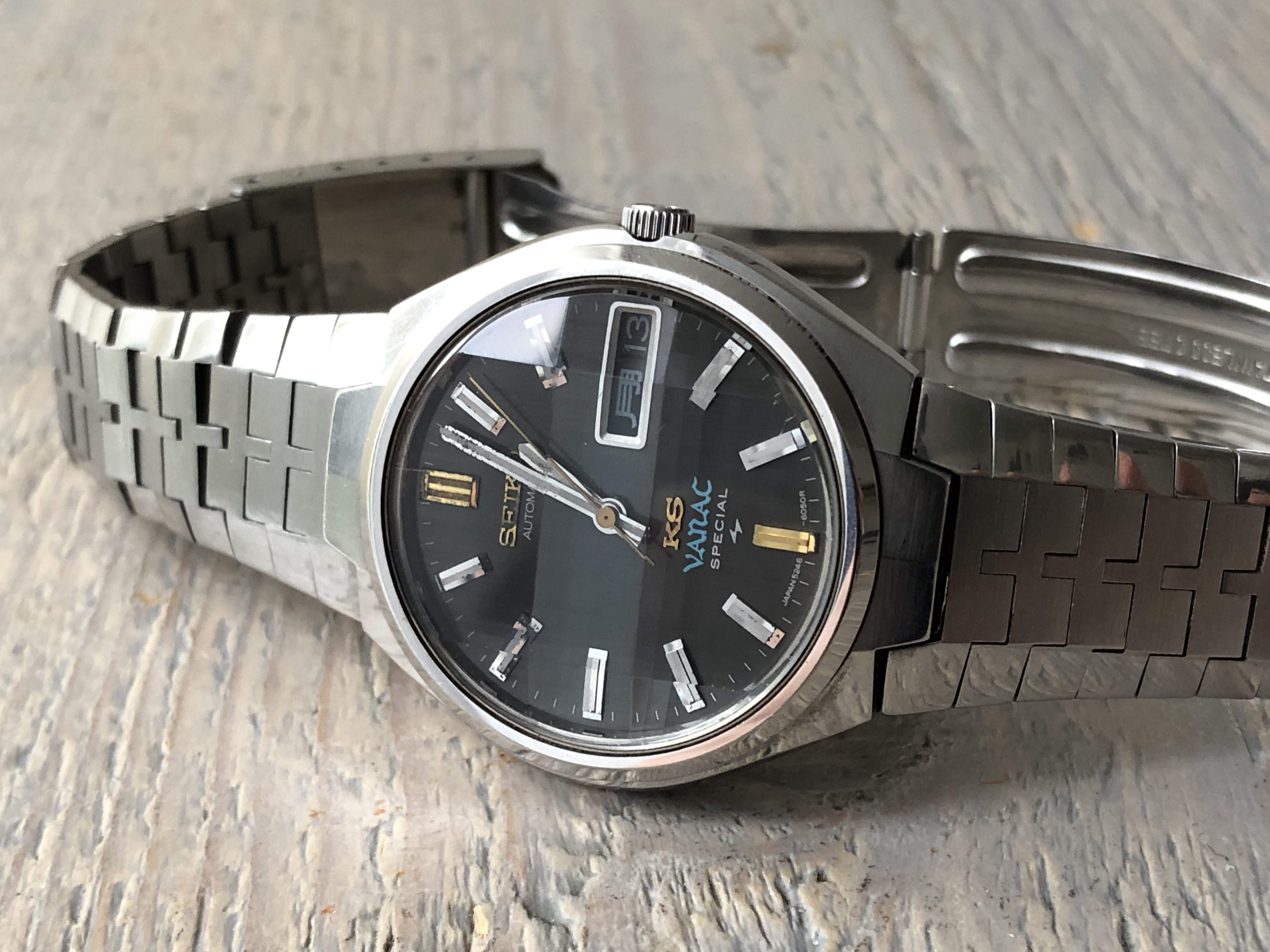 King Seiko Vanac Special 5246-6040 (For sale/In for service)
