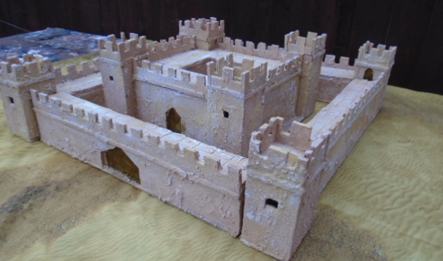 DESERT MIDDLE EASTERN CASTLE