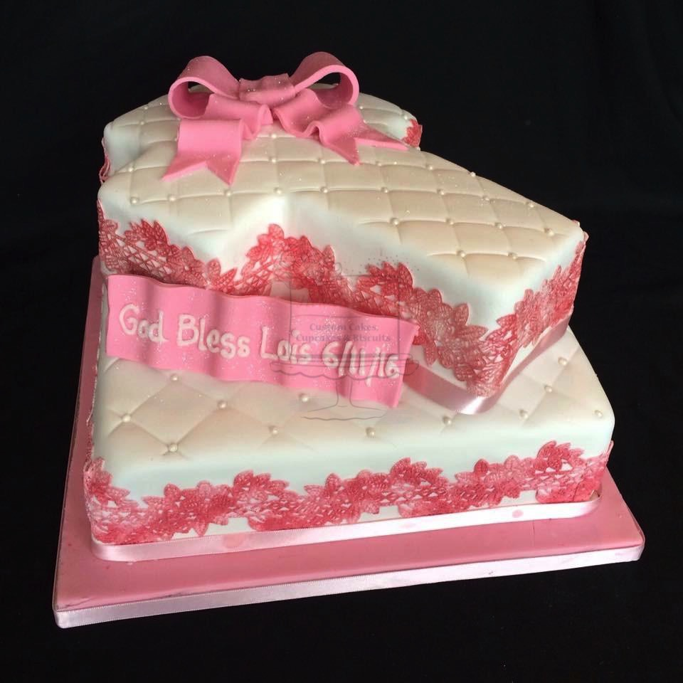 Cross 2 Tier Pink
