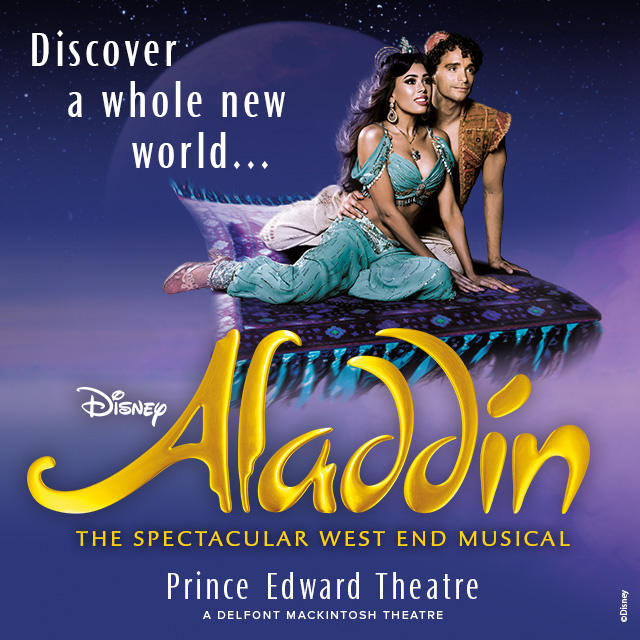 THEATRE - exceptional Male & Female Dancers and Singers for Disney's ALADDIN -West End -OPEN CALL