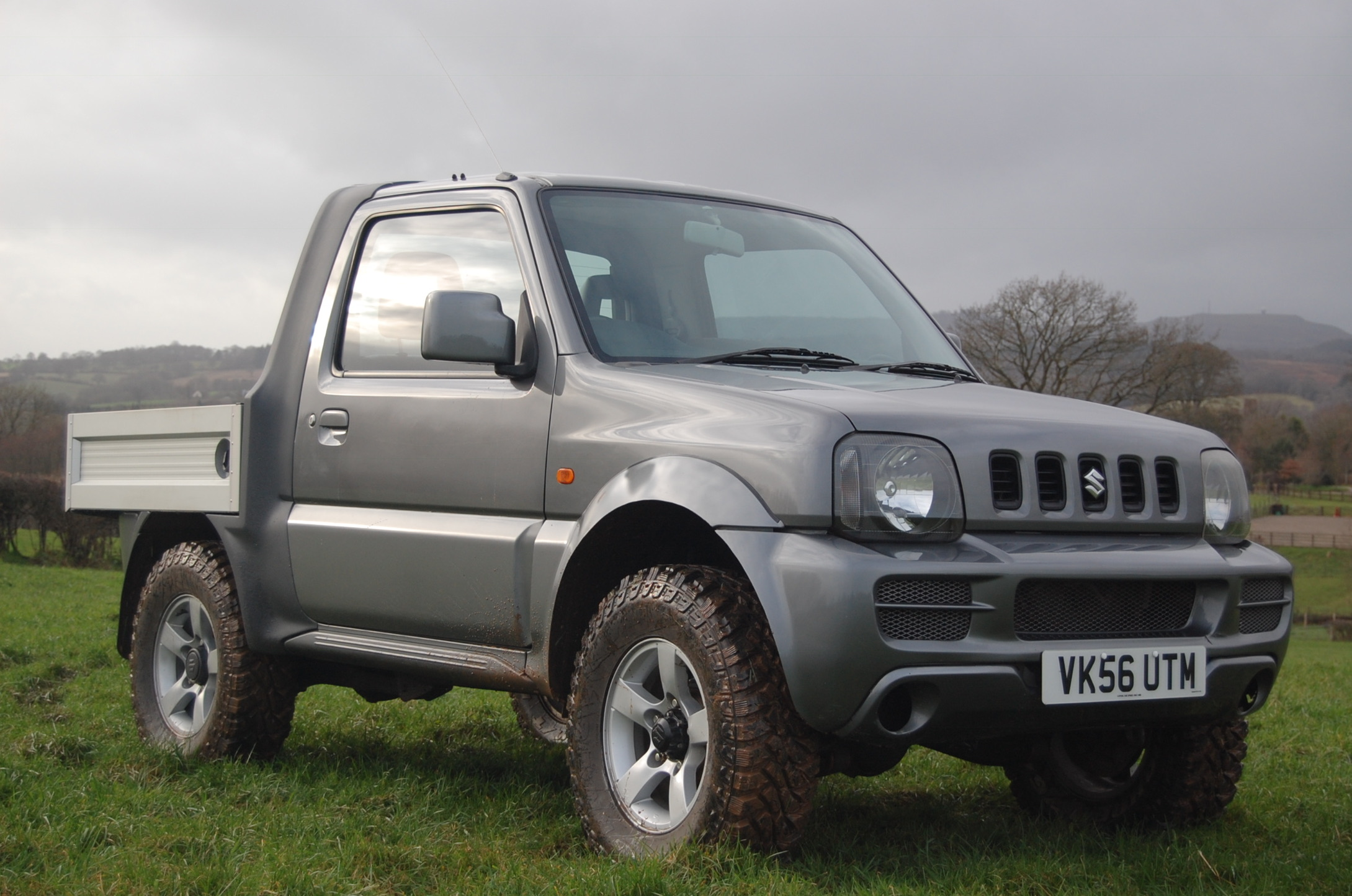 Suzuki Jimny Pickup conversion from Shropshire Quads