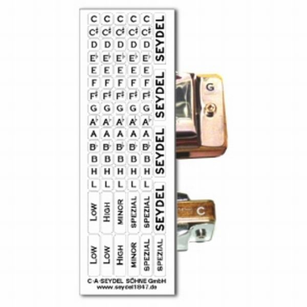 Seydel Key Stickers- small