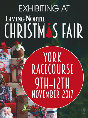 Exhibiting at The Living North Christmas Fair