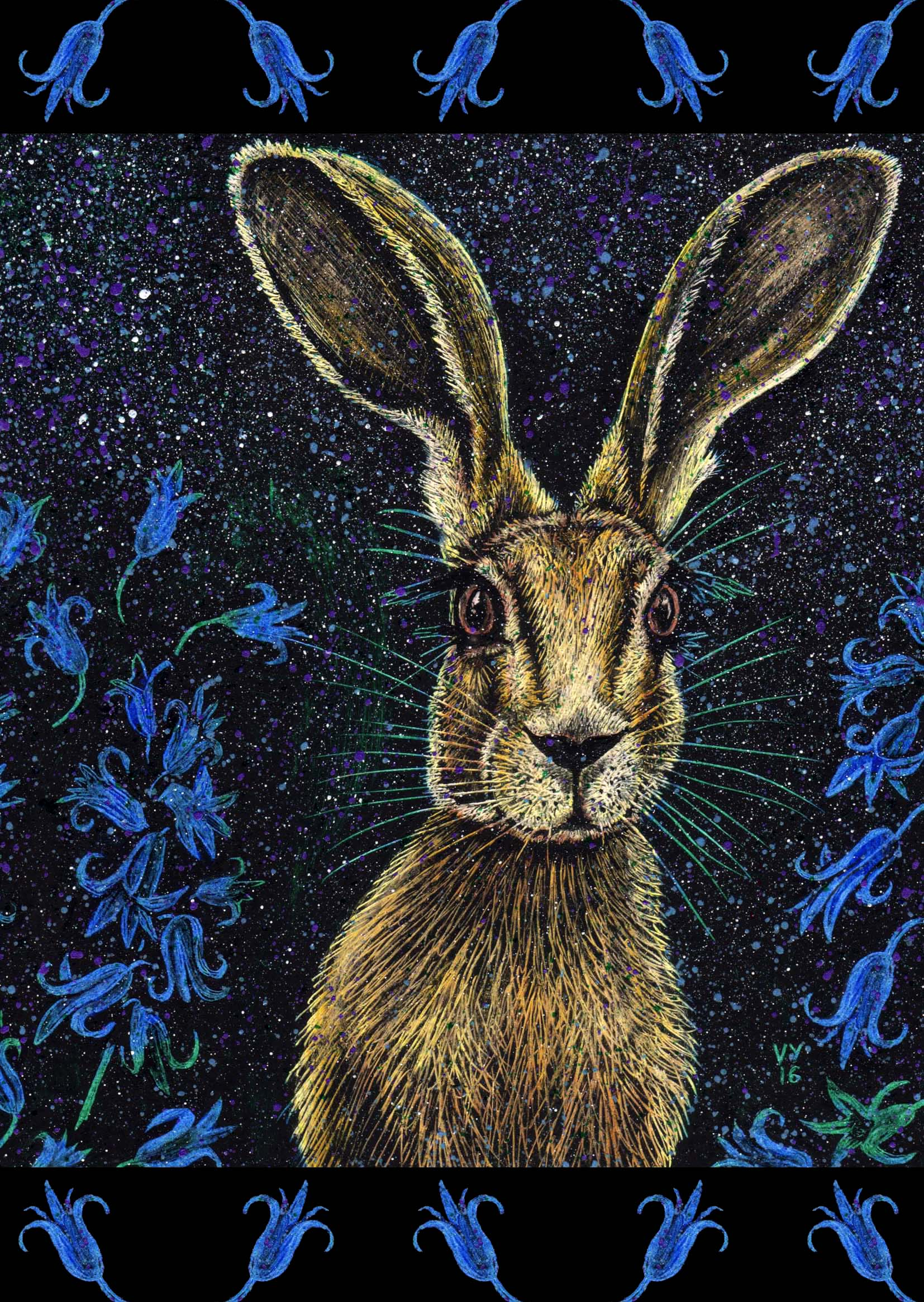 'Bluebell' card