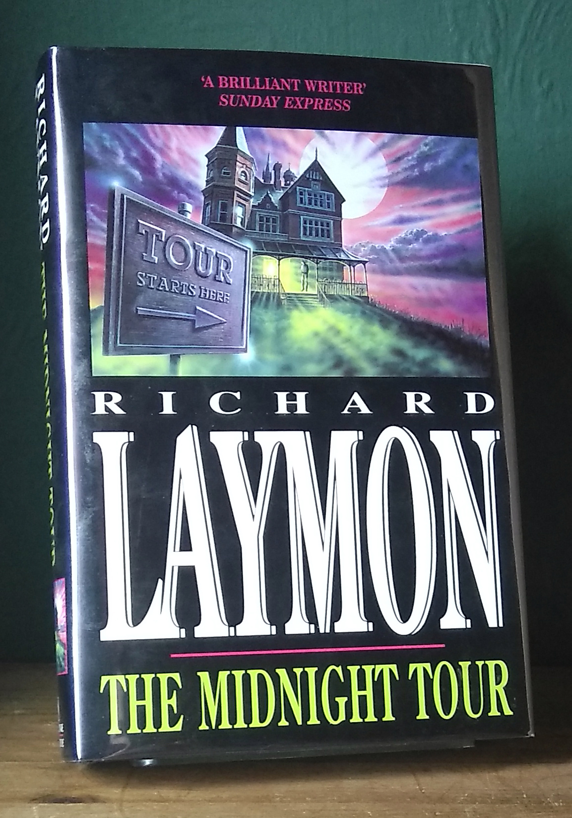 The Midnight Tour Signed UK First Edition