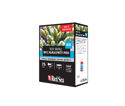 Alkalinity (KH) Pro - Test Kit Refills (75 tests)