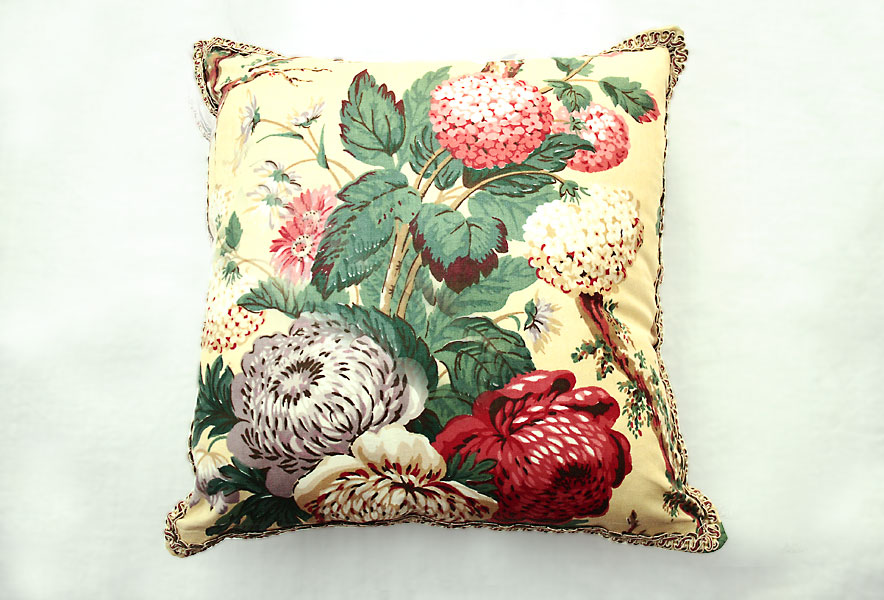 Heritage Chintz Print 2 Cushion