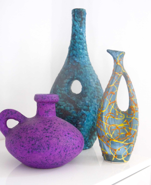 Italian Studio Pottery 'Fat Lava' signed to base