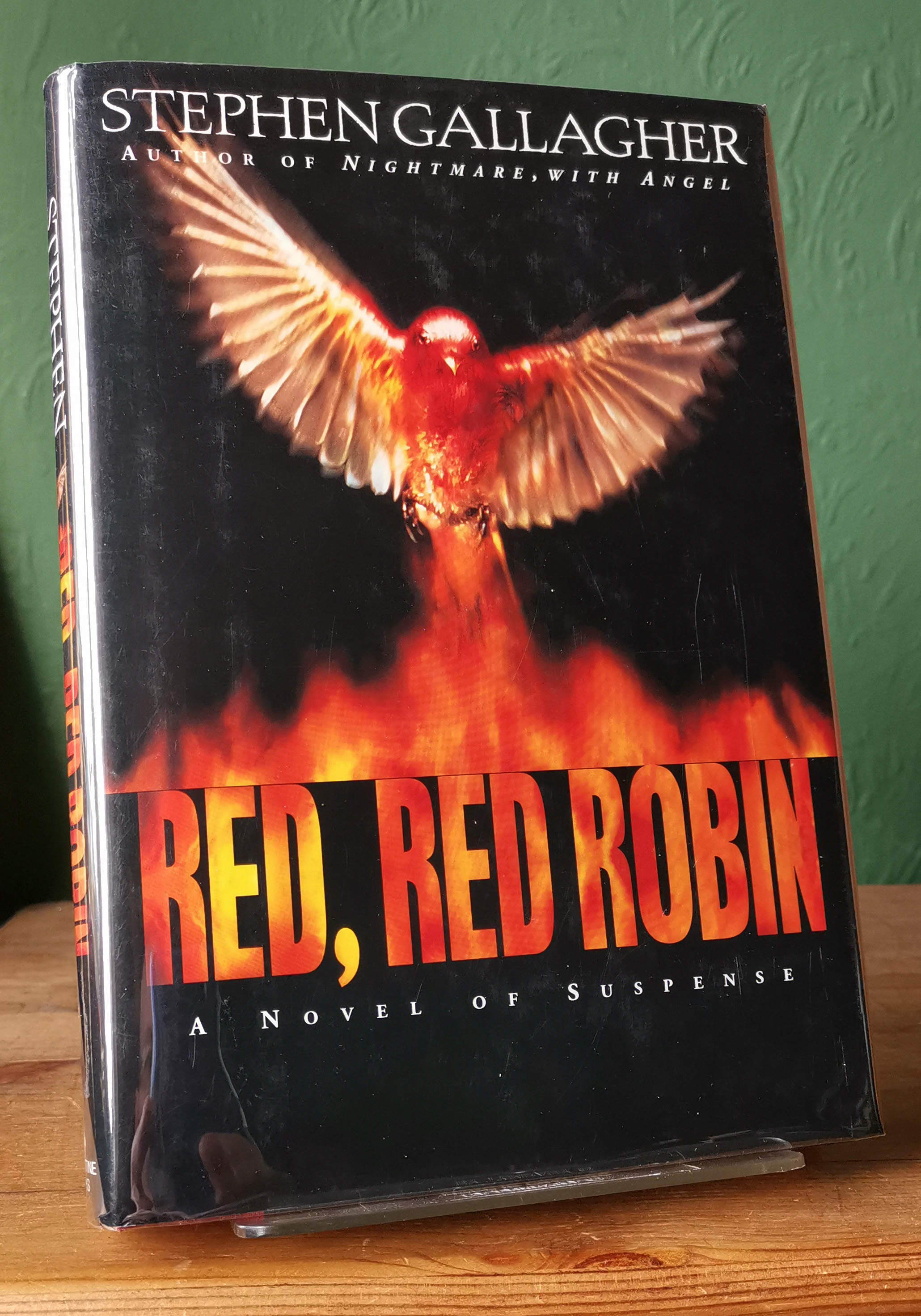 Red Red Robin Signed US First Edition