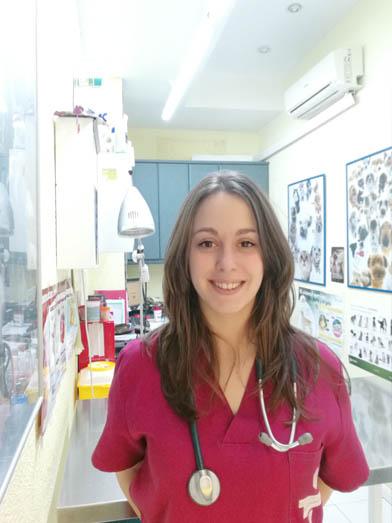 Laura Gascón, veterinaria en veterinarios Madrid