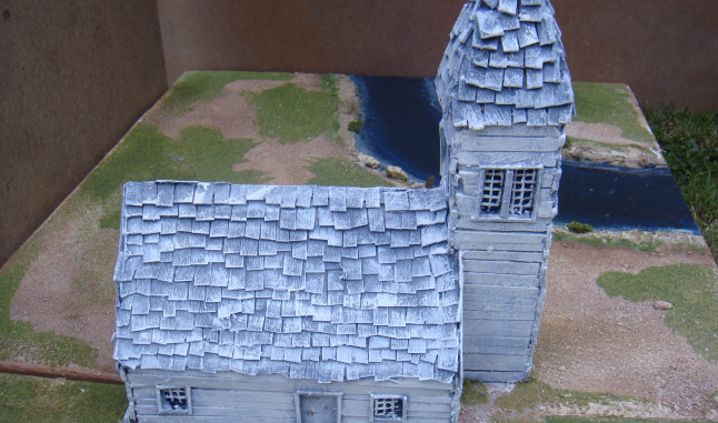 AWI Battle of Boston 1775 Wooden Church Concord