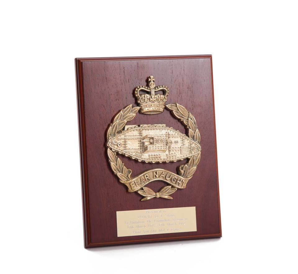RTR Brass Plaque (PQ-MA-1)