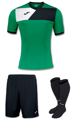 JOMA CREW II KIT-GREEN