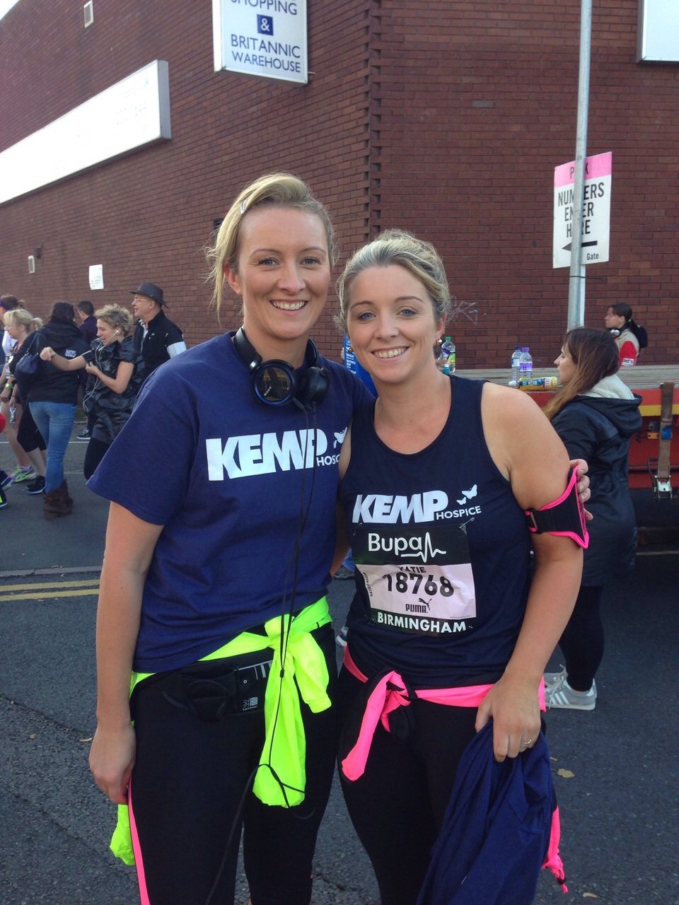 Birmingham Half Marathon raises more than £400 for KEMP Hospice
