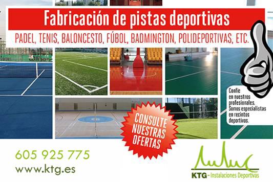 Presupuesto instalación pista padel tenis