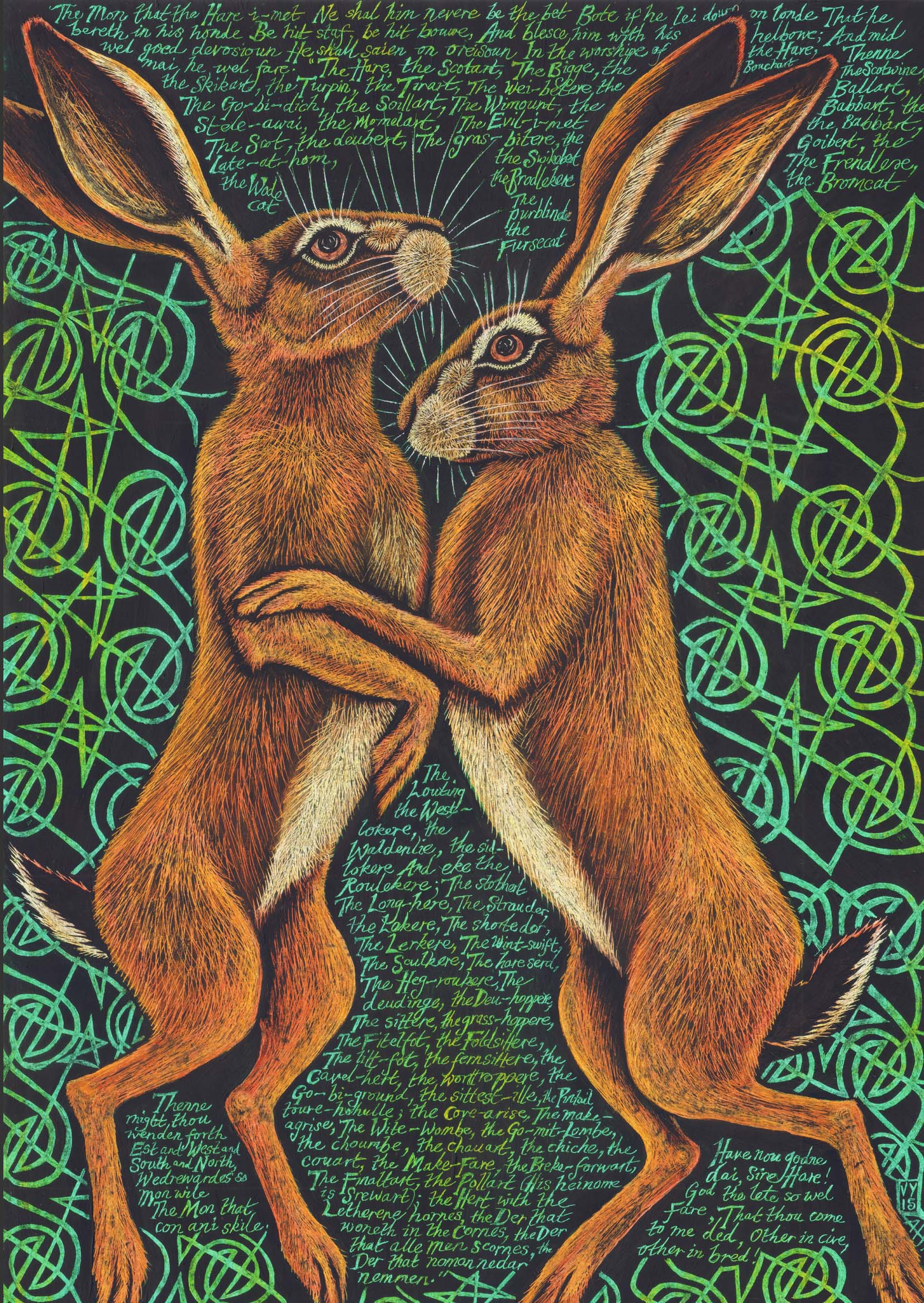 'The Hare-i-met' card