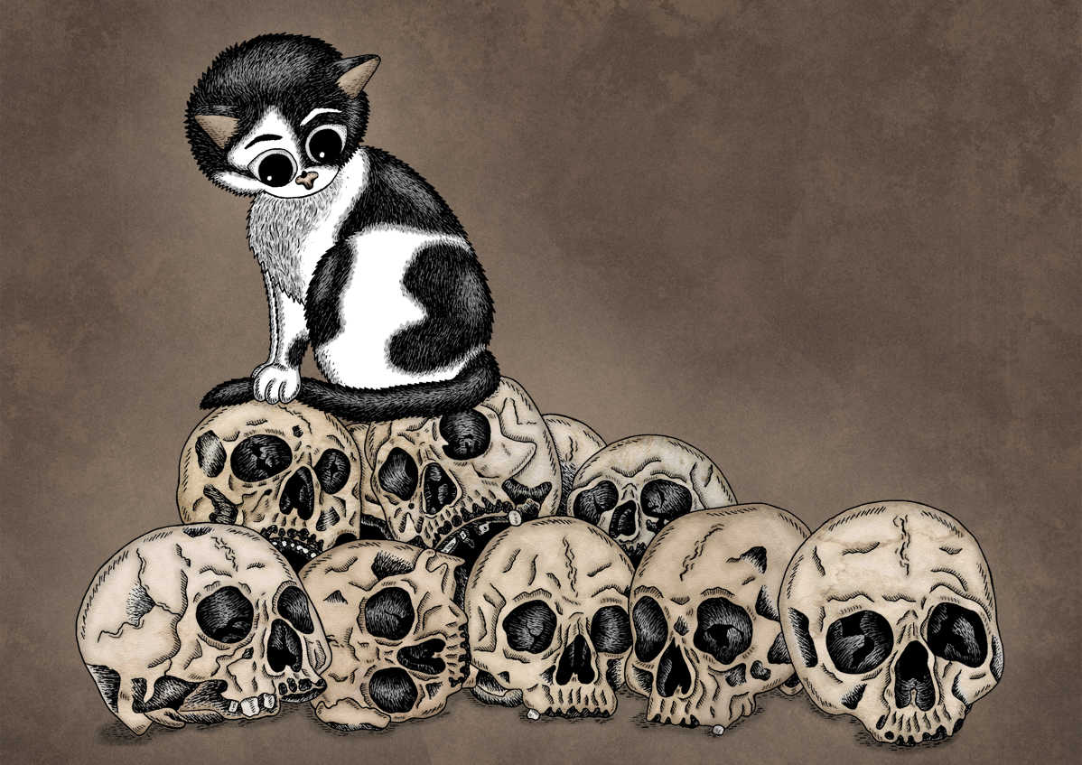 Memento Mori: Mountain Of Skulls by Jenny Bommert, 2015