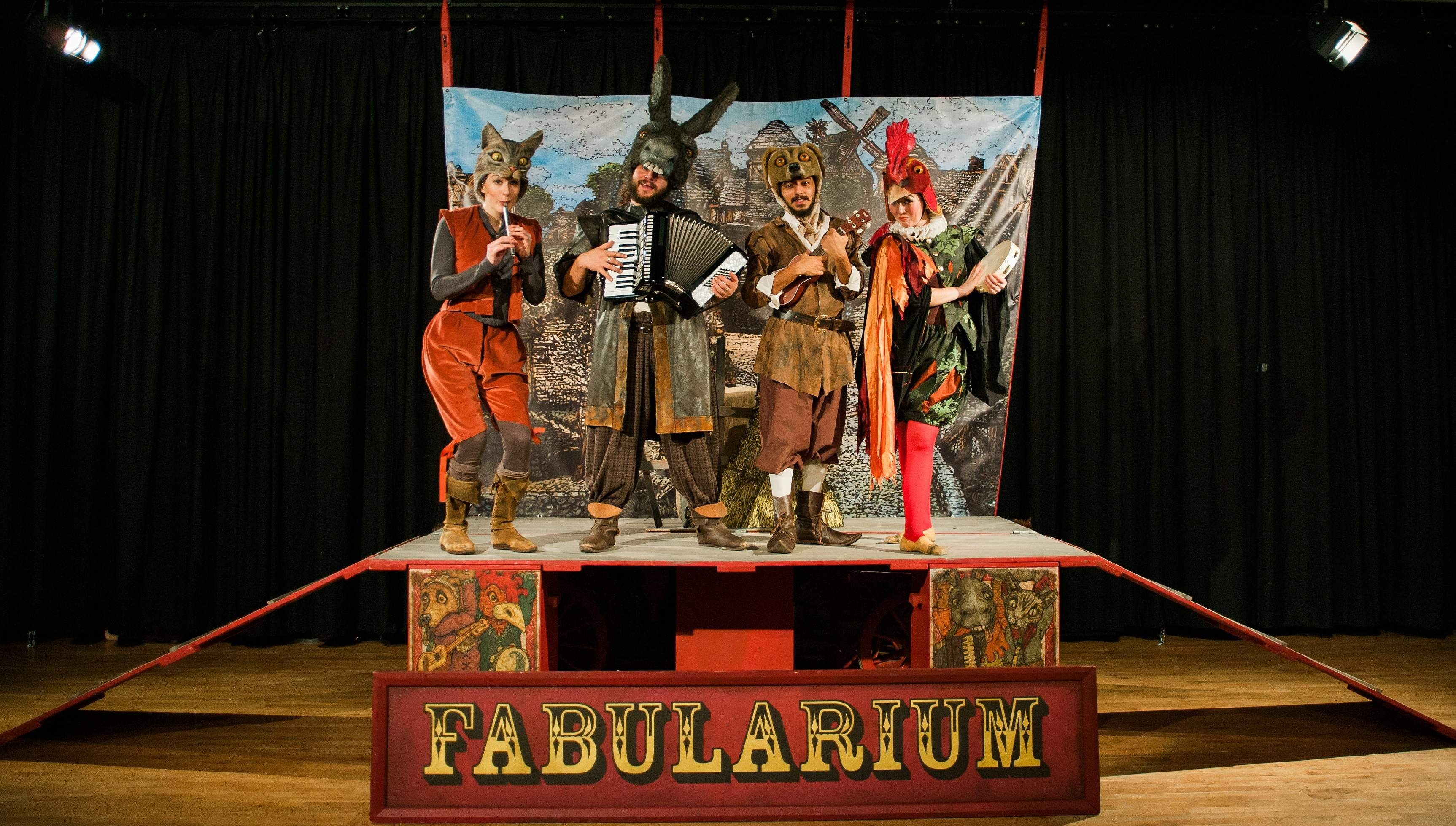 STAGE - 2 Performer Musicians for new adaptation of Don Quixote with The Fabularium (apply by 16th March)