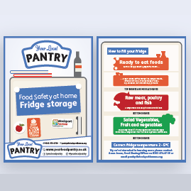 Your Pantry Fridge Storage Leaflet