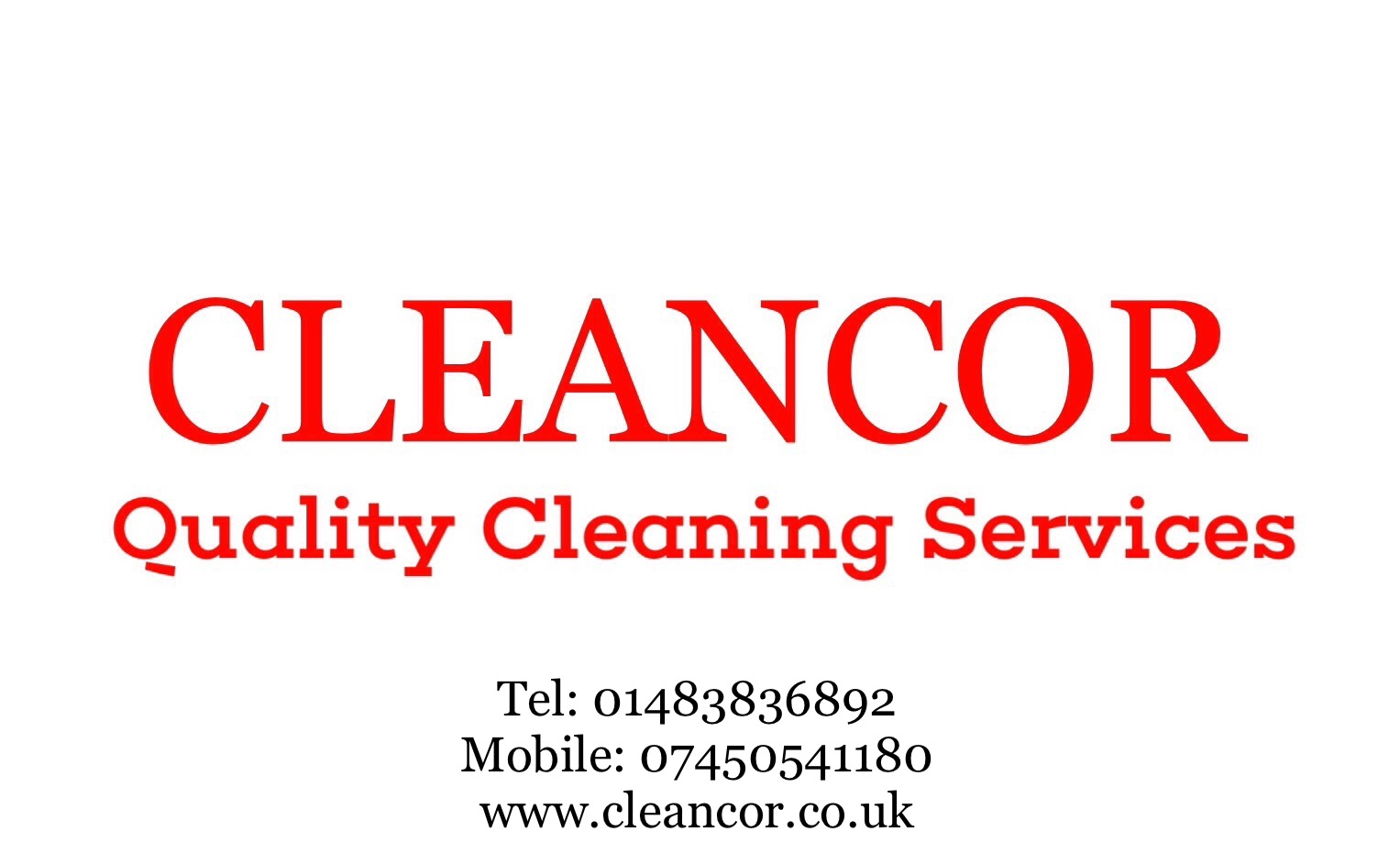 Cleancor Quality Cleaning Services